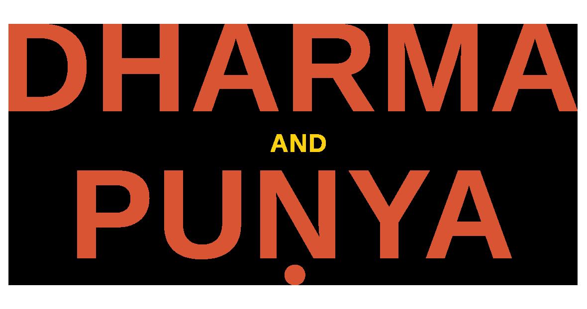 Dharma and Puṇya